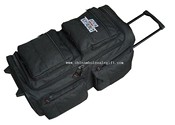 Trolley travel bag with 6 pockets images