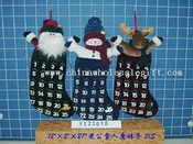 santa&snowman &deer stocking 3/s images