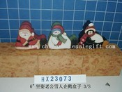 sitting santa&snowman&penguin 3/s images