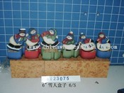 snowman on box 6/s images