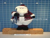 standing snowman and santa 4/s images