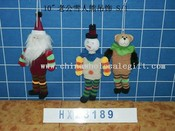stretch santa&snowman &bear 3/s images
