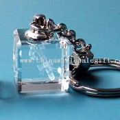 Laser Crystal Key Chain images