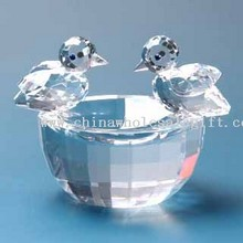 Crystal Gift - K9 Optical Crystal Birds Nest images
