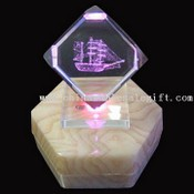 Color Changing Engraved Crystal images