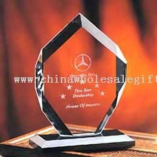 High Quality K9 Optical Crystal Crystal Trophy images