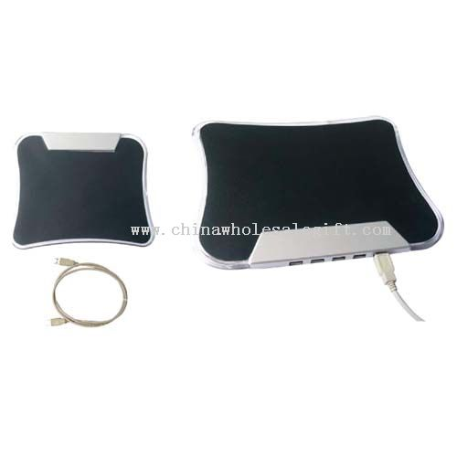 USB HUB With Mouse Pad