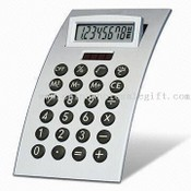 Eight-digit Calculator with Adjustable Display images
