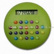 Round shape Eight Digit Display Calculator images