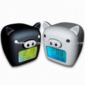 Pig-shaped Calendar with Touch Light images