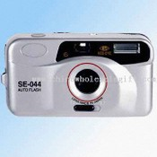 Auto Flash, Compact Auto Wind/Re-wind Camera (35mm) with Electronic Self-Timer images