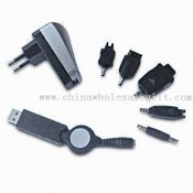 Retractable USB Travel Charger Kit images