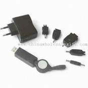 Travel Charger Kit with USB Port images