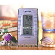 Desk LCD Clock W/Thermometer images
