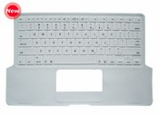 Keyboard Cover for Apple MacBook with wrist pad images