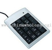 Mini digital keyboard with 18 keys images