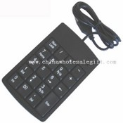 USB numeric keyboard with 19 keys images