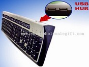 MultiMedia Keyboard with USB HUB images