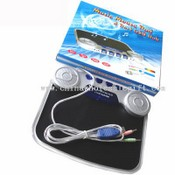 4 Port USB HUB-Music Mouse Pad images