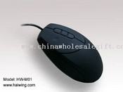 5D silicone waterproof optical mouse for industria and medical images