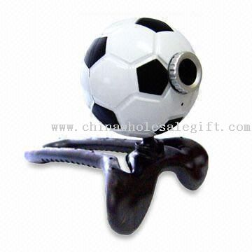 Football Web Camera and CMOS PC Camera with USB 1.1 and 2.0 Interface
