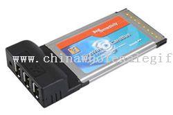 Firewire 1394a 3-Port CardBus