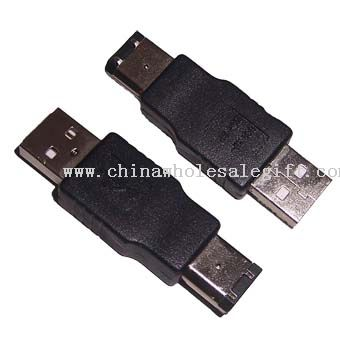 USB AM to 1394 6P M Adapter