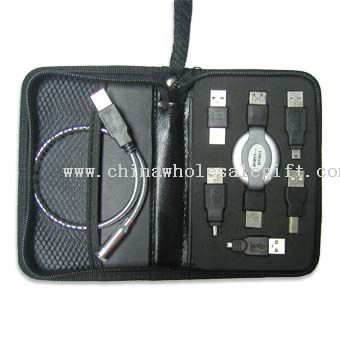 USB Travel Kit with Led Light