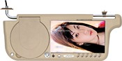7Sun visor type DVD player with LCD display images