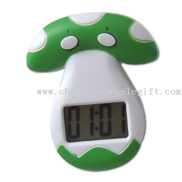 Mushroom-shaped Kitchen Timer with Magnet