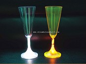 Flashing Champagner Glas images