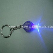Mini LED light key chain images