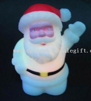 Flashing Santa Claus