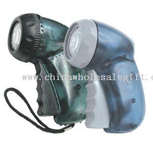 Hand Press Flashlight