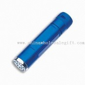 5-LED Flashlight with On/Off Bottom Button Control images