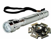 High power aluminum flashlight images