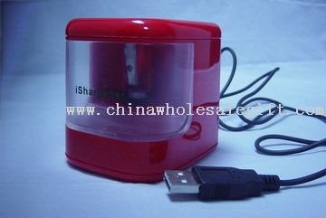 Electronic Sharpener with flashlight
