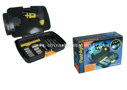 26 pcs Tool Box With Light