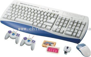 wireless control keyboard game