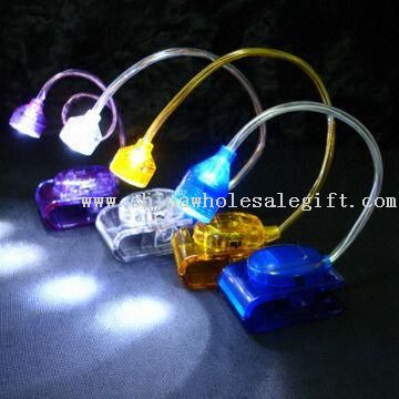 Mini Clip-on LED Book Light with Flexible Stem