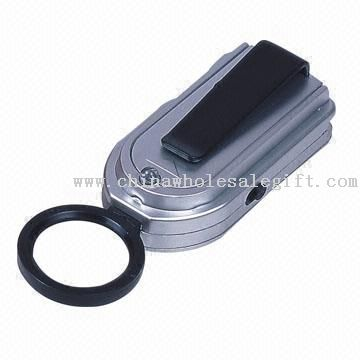 LED Light with Magnifier and Press Button