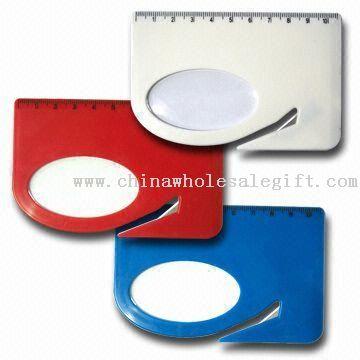 Brev oplukker/lineal/Forstørrelsesglas