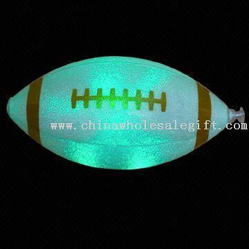 LED Flashing Novelty Light in American Football Shape
