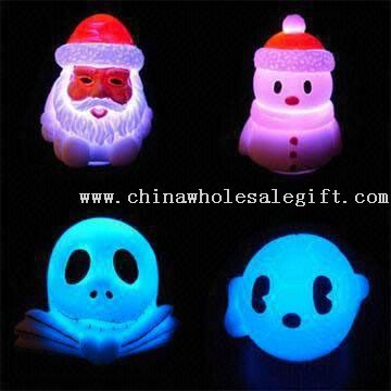 LED Novelty Lights in Flashing and Floating Holiday