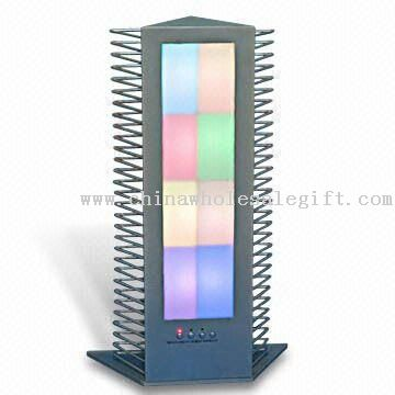 LED Table CD Rack