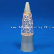 Color-changing LED Mini Glitter Lamp images
