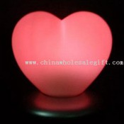 Single LED Color Changing Heart Light with Charging Base images