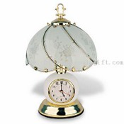 Clock Moon Touch Lamp images