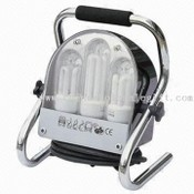 Work Light with 3 Energy Saving Lamp and E27 Lamp Holder images