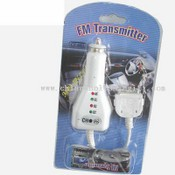 Fm Transmitter with 5 frequency for IPOD images